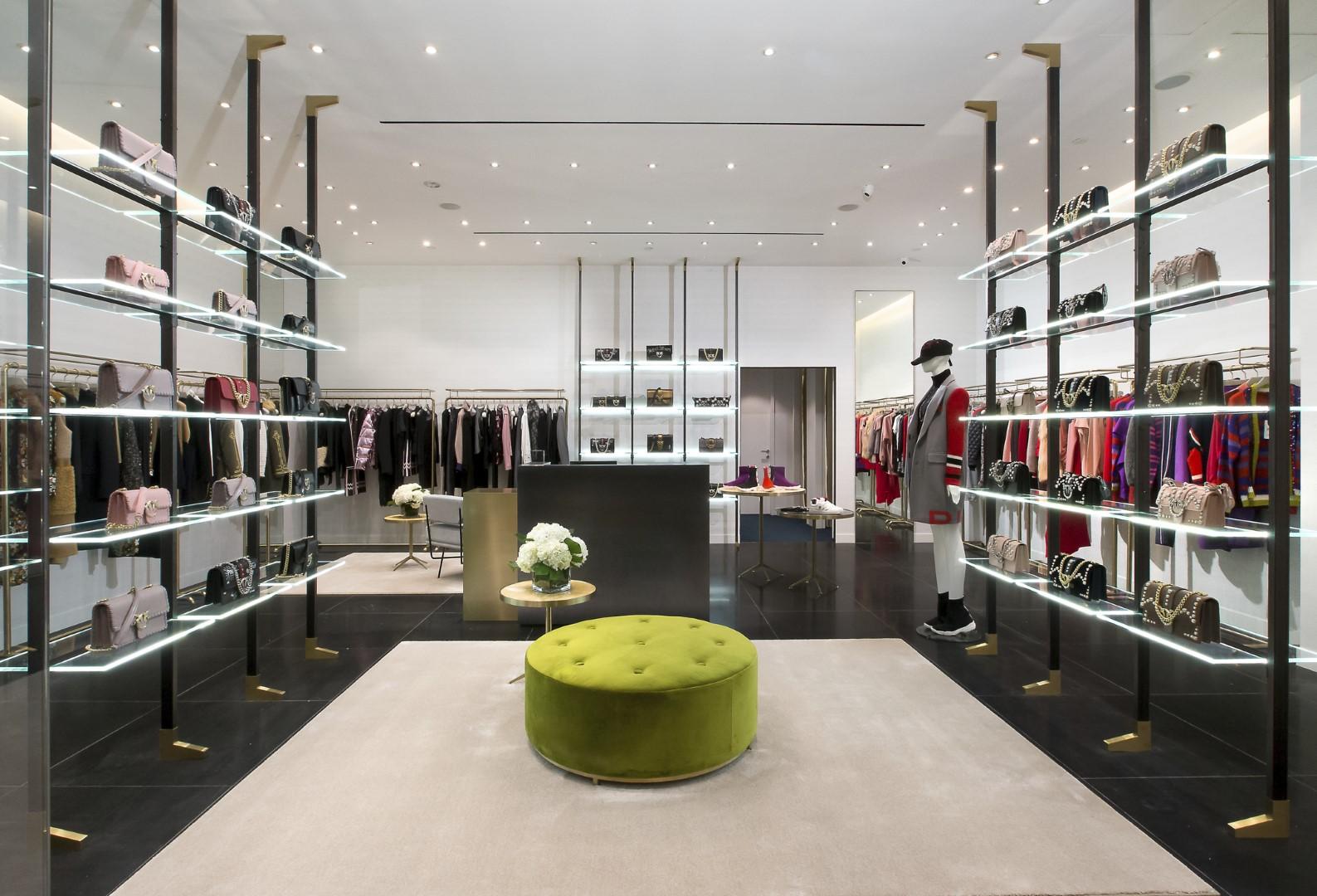 more photos 212e0 f4f6f Pinko – ION Orchard | Inprodec Associates | Interior Design ...