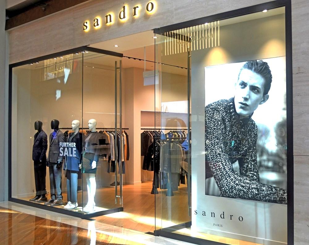 Sandro – Marina Bay Sands | Inprodec Associates | Interior ...